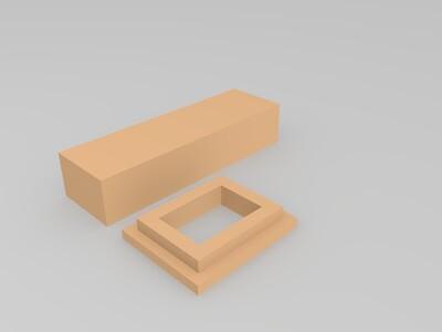 高速公路立交桥 场景用-3d打印模型