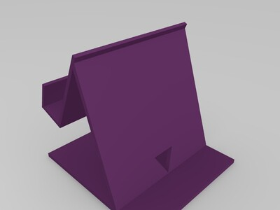 手机充电架-3d打印模型