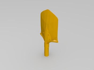 战地铲-3d打印模型