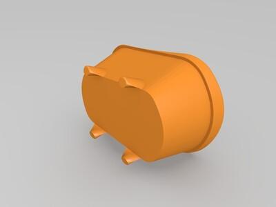 浴缸花盆-3d打印模型