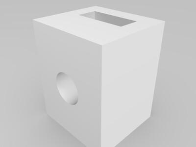 同步带张紧装置-3d打印模型