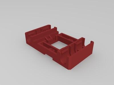 MakerBot喷头部位安装座-3d打印模型