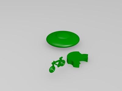 11自行车-3d打印模型
