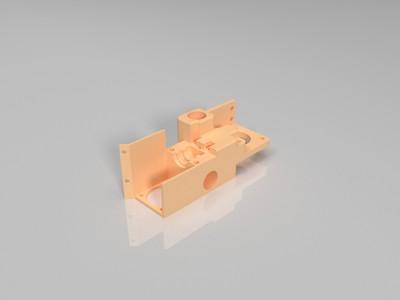 ultimaker 挤出机-3d打印模型