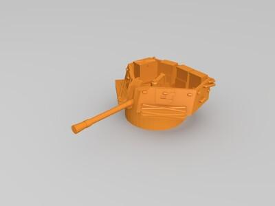苏联自走防空炮-3d打印模型