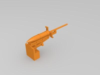德国自走炮坦克-3d打印模型