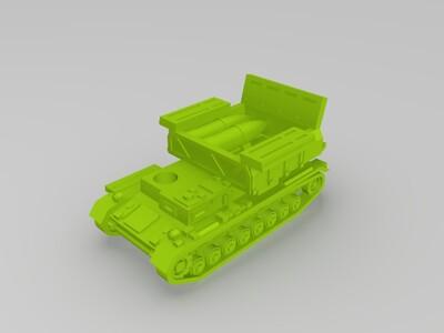 德国弹药起重机坦克-3d打印模型