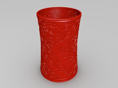 精美纹路灯罩-3d打印模型