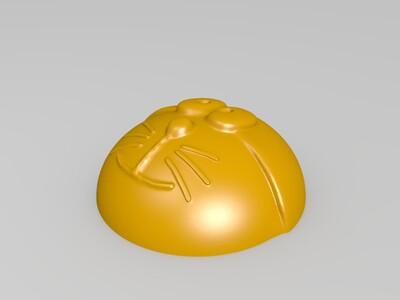 多啦A梦-月饼-机器猫-馒头-3d打印模型