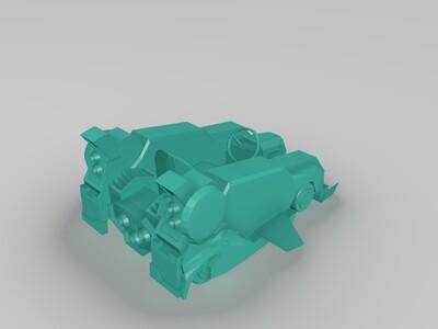 跑跑卡丁车棉花糖-3d打印模型