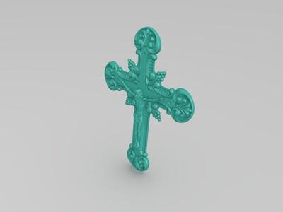 耶稣十字架-3d打印模型