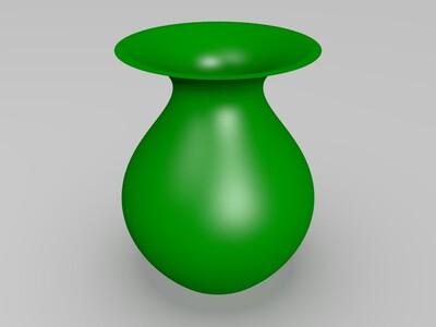 3D花瓶-3d打印模型