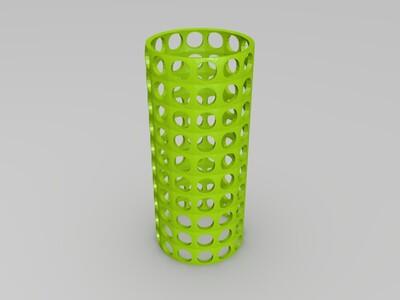 镂空网格-grassopper-3d打印模型
