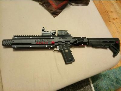 LCW-m1911卡宾枪-3d打印模型