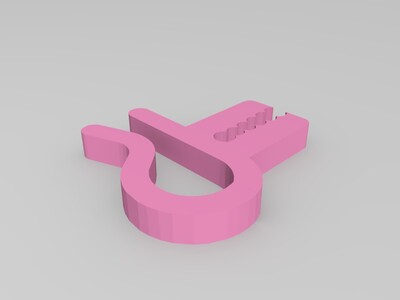料夹-3d打印模型