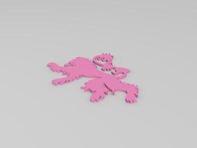 GoT兰尼斯特家族家徽-3d打印模型