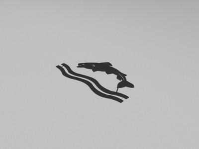 GoT徒利家族家徽-3d打印模型