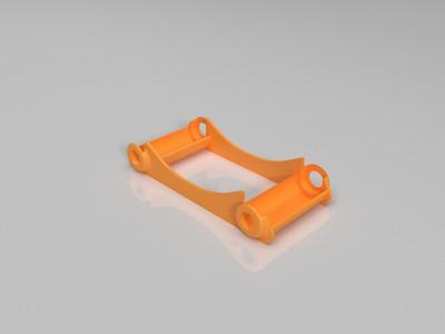 带轴承物料架-3d打印模型