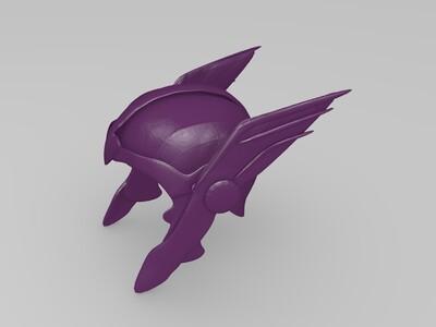 雷神 托尔 头盔-3d打印模型