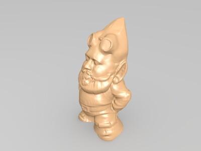 小矮人-3d打印模型