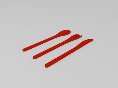 辛普森餐具架-3d打印模型