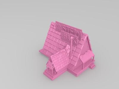 小酒馆-3d打印模型