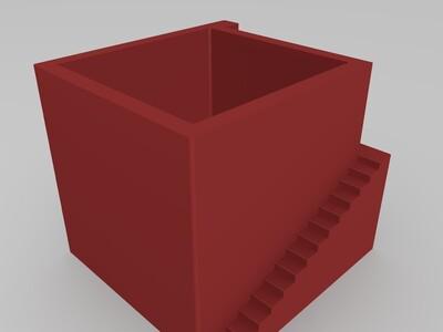 微景观花盆-3d打印模型