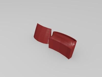 分段打印双体竞速快艇-3d打印模型