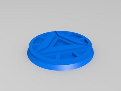 钢铁侠指间陀螺-3d打印模型