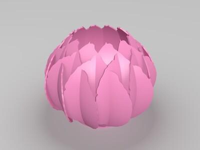 插花花瓶-3d打印模型