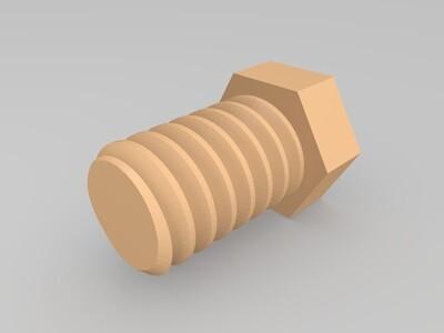 螺栓-3d打印模型