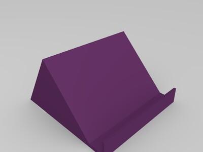 省时省料简易手机架-3d打印模型