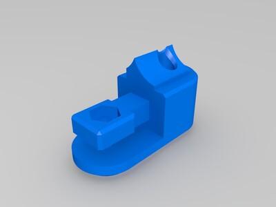 双轮减速挤出机-3d打印模型
