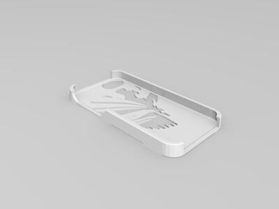 死神手机壳-3d打印模型