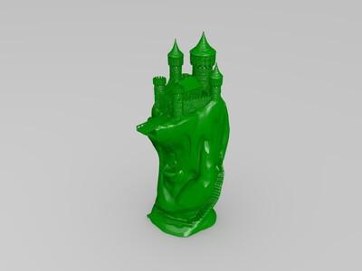 各种神奇的建筑-3d打印模型