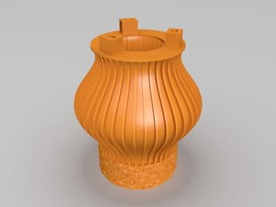 祥云灯笼-3d打印模型