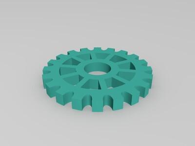 花式齿轮-3d打印模型