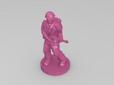 玩具兵-3d打印模型