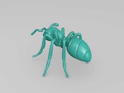 蚂蚁-3d打印模型