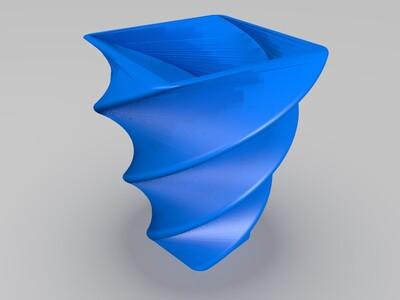 小花瓶-3d打印模型