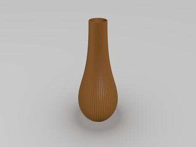 精美花瓶-3d打印模型