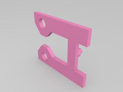 航模 3D_printed_dual_pump_RC_boat船模型-3d打印模型