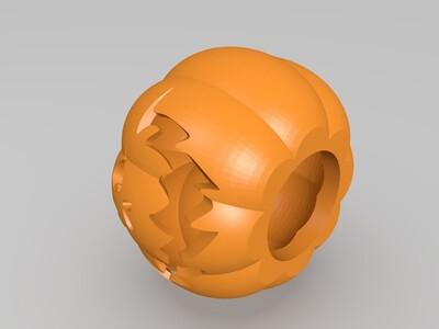 万圣节南瓜灯-3d打印模型