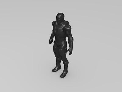 钢铁侠模型-3d打印模型