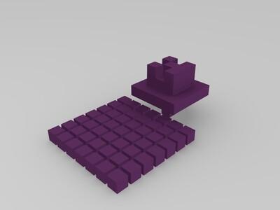 我的世界-3d打印模型