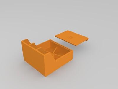 一个自制的小置物盒-3d打印模型