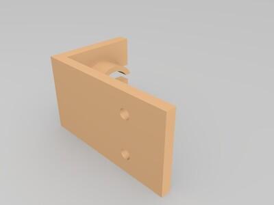 波纹管固定架-3d打印模型