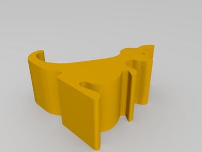 兔子手机架-3d打印模型