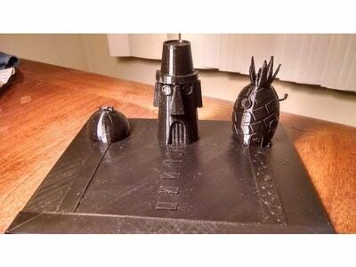 比奇堡-3d打印模型