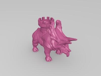 恐龙-3d打印模型